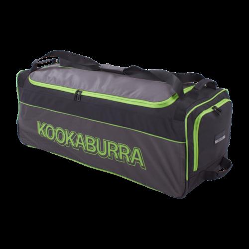 Kookaburra 3.0 Pro Black Lime Wheelie Cricket Bag
