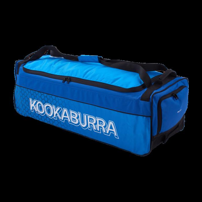 Kookaburra 4.0 Blue Wheelie Cricket Bag