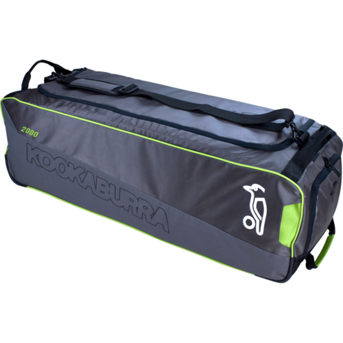Kookaburra 2000 Grey Wheelie Cricket Bag