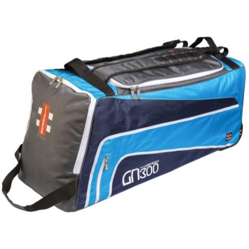 Gray Nicolls GN300 Blue Wheelie Cricket Bag