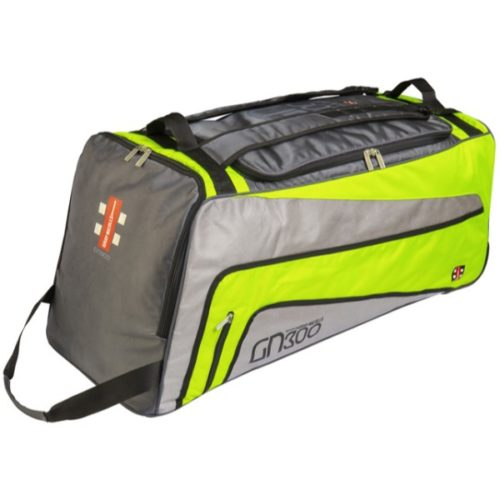 Gray Nicolls GN 300 Green Wheelie Cricket Bag