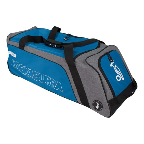 Kookaburra Pro 2400 Wheelie Cricket Bag - Teal\Grey
