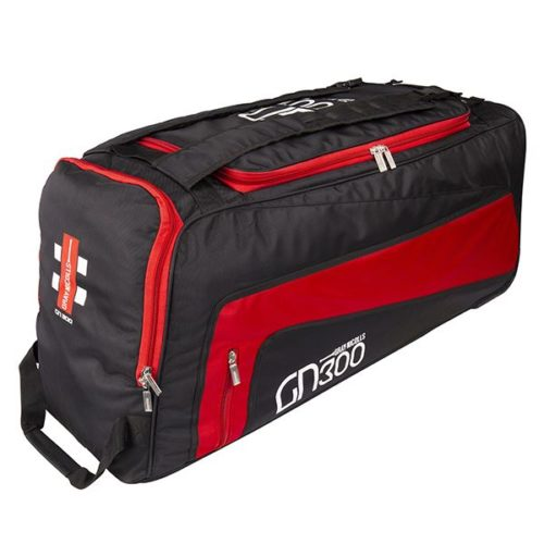 Gray Nicolls GN300 Black Red Wheelie Cricket Bag