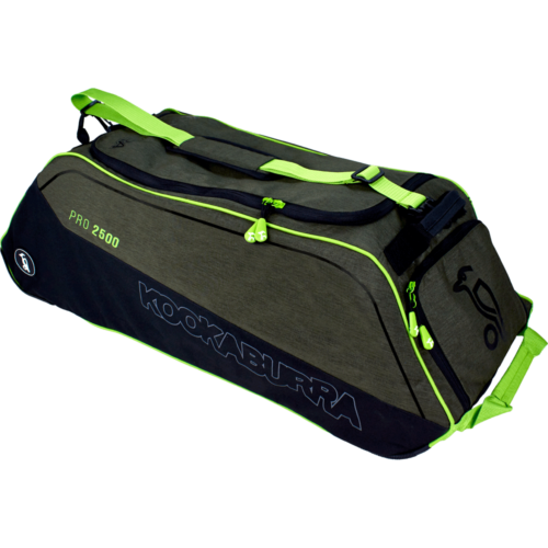 Kookaburra Pro 2500 Khaki Wheelie Cricket Bag