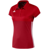 Adidas T16 Ladies Clima Polo Shirt Red/Scarlett