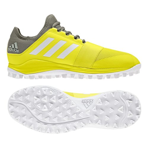 Adidas Divox Yellow Hockey Shoes