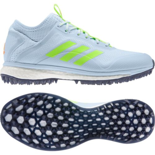Adidas Fabela X Sky Blue Hockey Shoes