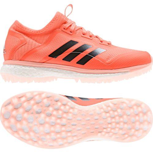 Adidas Fabela X Orange Hockey Shoes