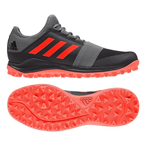 Adidas Divox Black Hockey Shoes