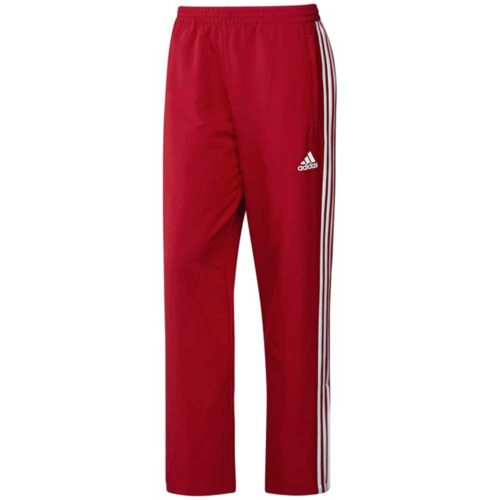 Adidas T16 Mens Tracksuit Pants Red