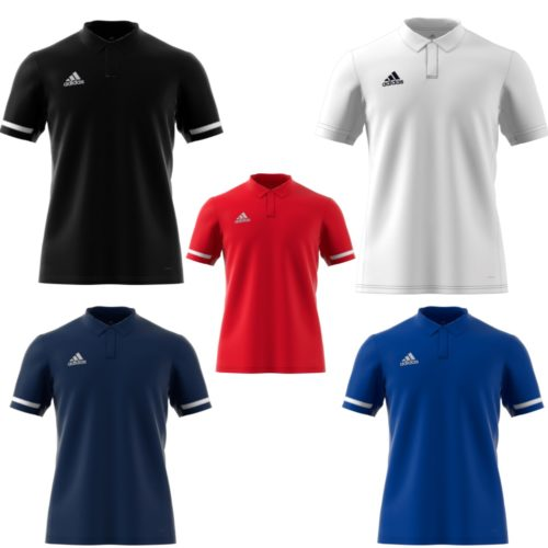 Adidas T19 Mens Clima Polo Shirt