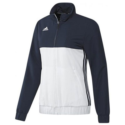 Adidas T16 Ladies Team Jacket Navy\White