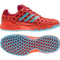 Adidas Adizero Red Aqua Hockey Shoes