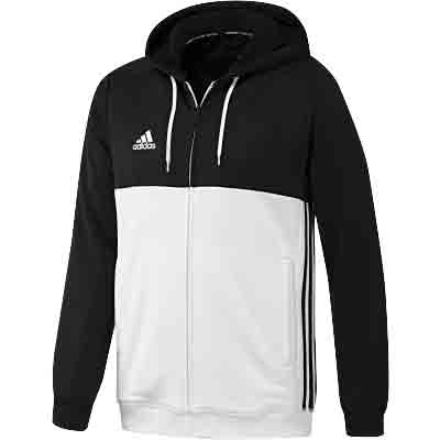 Adidas T16 Mens Hooded sweatshirt Black