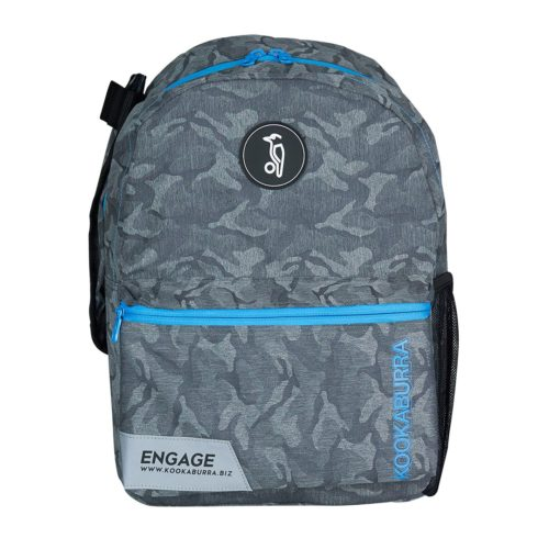 Kookaburra Engage Camo Grey Blue Hockey Rucksack