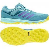 Adidas Fabela Rise Aqua Yellow Womens Hockey Shoes
