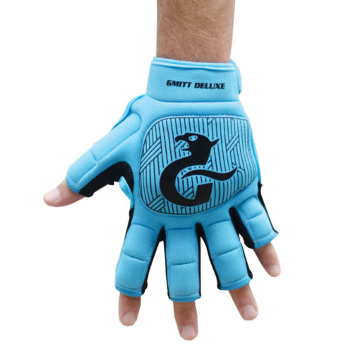 Gryphon G-Mitt Delux Cyan Left Hand Hockey Glove