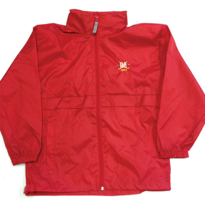 Old Alex Ladies Hockey Club Junior rain jacket