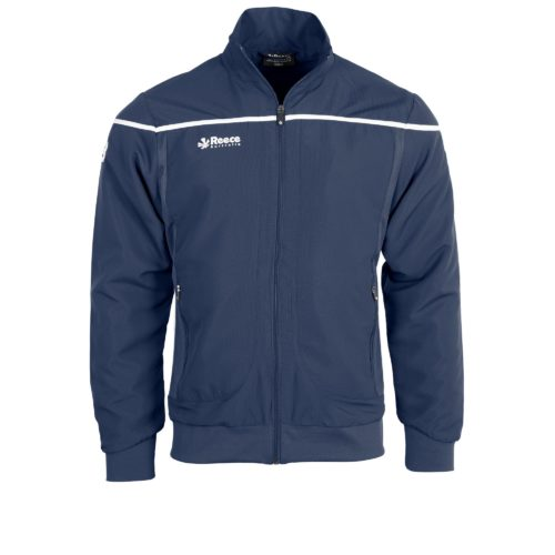 Reece Varsity Woven Jacket Unisex Navy