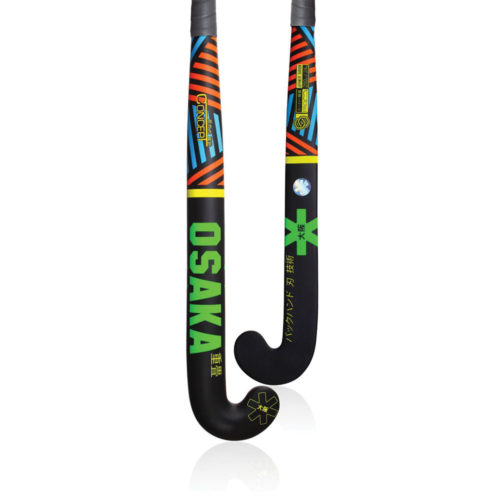 Osaka Concept Series Razzle Dazzle Black Pro Bow Hockey Stick