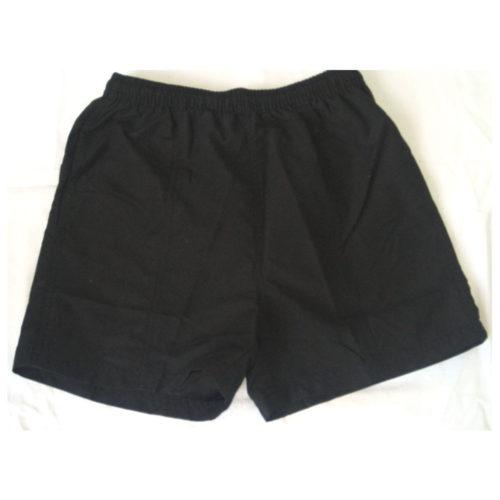 Pembroke Wanderers Hockey Club Junior Black shorts