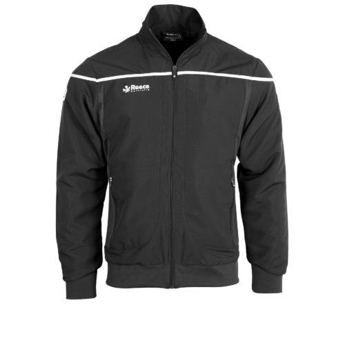 Reece Varsity Woven Jacket Unisex Black