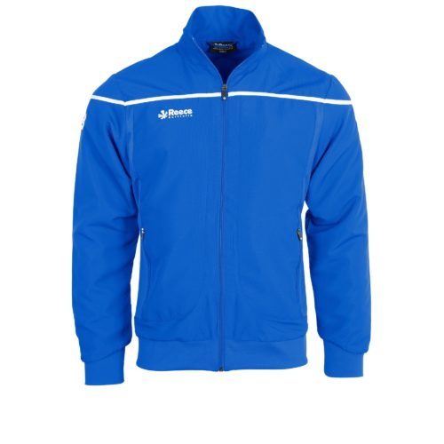 Reece Varsity Woven Jacket Unisex Royal Blue