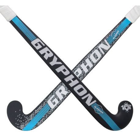 Gryphon Slasher Black Hockey Stick