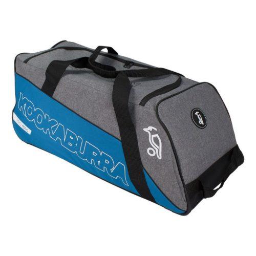 Kookaburra Pro 1500 Wheelie Cricket Bag Teal\Grey
