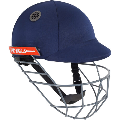 Gray Nicolls Atomic Navy Cricket Helmet