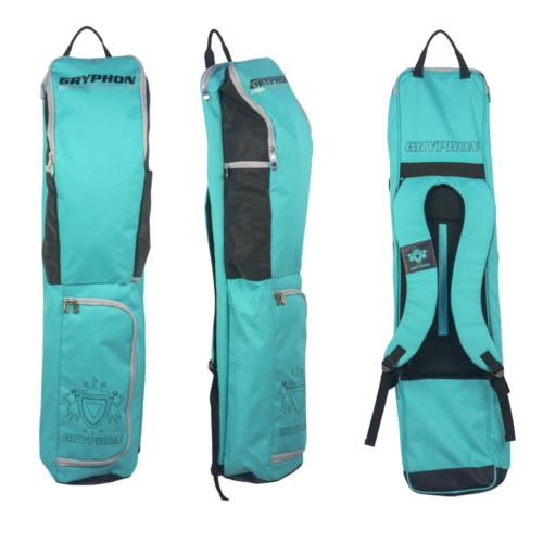 Gryphon Thin Finn Teal Hockey Stick and Kit bag