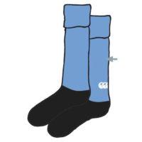 Mount Anville School Hockey Socks Blue