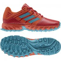 Adidas Hockey Junior Red Aqua Hockey Shoes