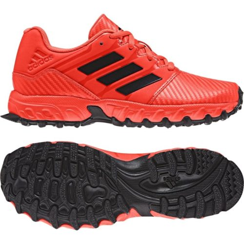 Adidas Junior Red Hockey Shoes
