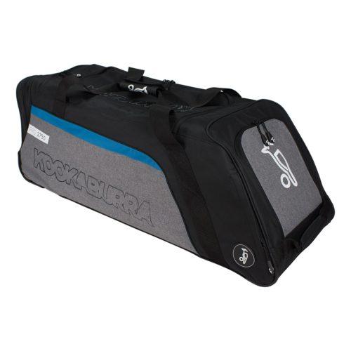 Kookaburra Pro 2750 Wheelie Cricket Bag - Black/Grey