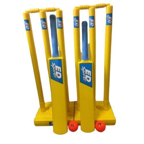 ED Sports Plastic Cricket Set