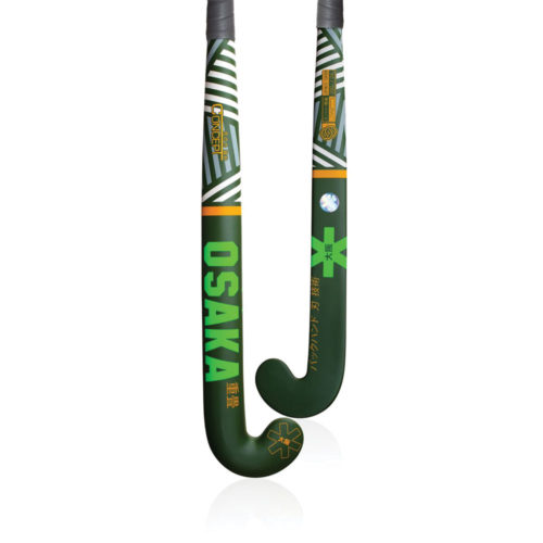 Osaka Concept Series Razzle Dazzle Green Low Bow Hockey Stick