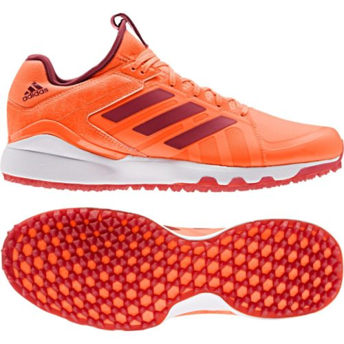 Adidas Lux Orange Hockey Shoes