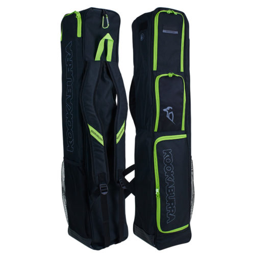 Kookaburra Phantom Black Hockey Stick and Kit Bag