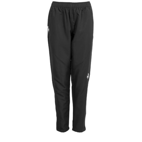 Reece Varsity Woven Ladies Black Track Pants