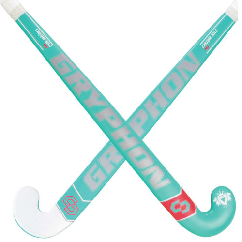 Gryphon Chrome Solo Pro ERS Teal Hockey Stick