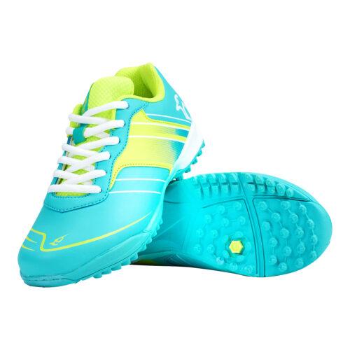 Kookaburra Neon Junior Aqua Hockey Shoes