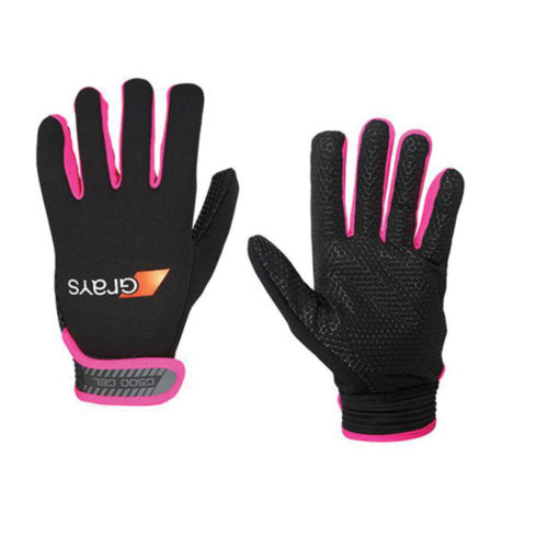 Grays G500 Gel Hockey Gloves Black\Pink