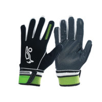 Kookaburra Gravity Hockey Gloves Black White