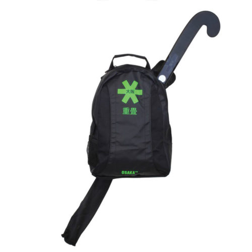Osaka Junior Black Green Hockey Backpack