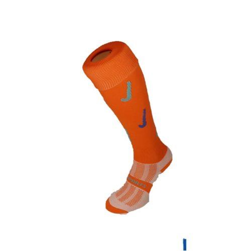 Hockey Sticks Orange Socks