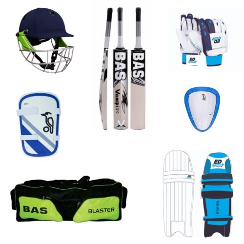 Cricket Bat and Equipment Pack