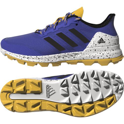 Adidas Adipower Blue Hockey Shoes