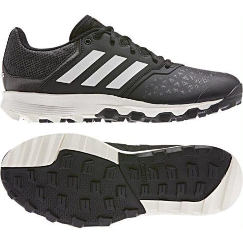 Adidas FlexCloud Black Hockey Shoes