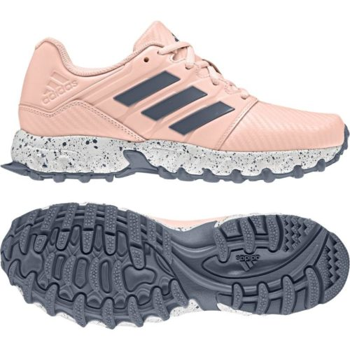Adidas Junior Pink Hockey Shoes